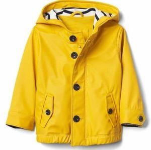 Baby Gap Yellow Rain Coat